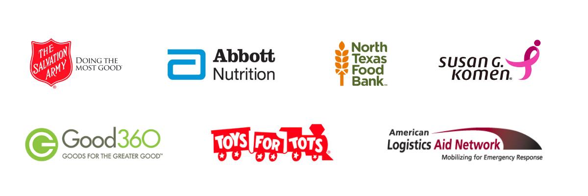TSG Gives Back Partner Logos